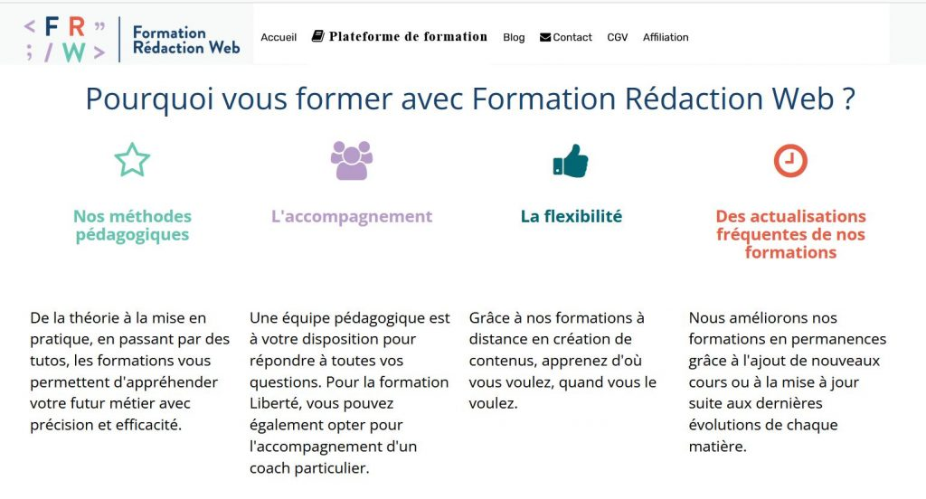 Redaction Web Lucie Rondelet Learnybox